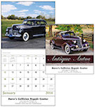 Antique Autos Spiral Wall Calendars